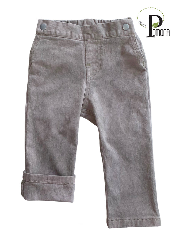 'Wash House' Colored Jeans in Stretch Grey (ECO/TRAD)