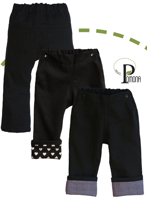Project Pomona TRAD Fit Black Denim Jeans