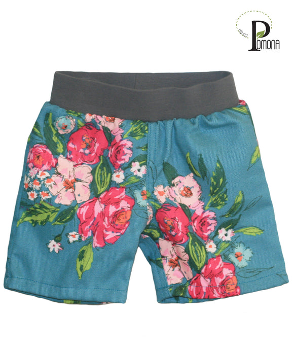 Project Pomona Floral Shorts (Stretch Waist)