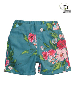 Project Pomona Floral Shorts (ECO/Stretch Waist)