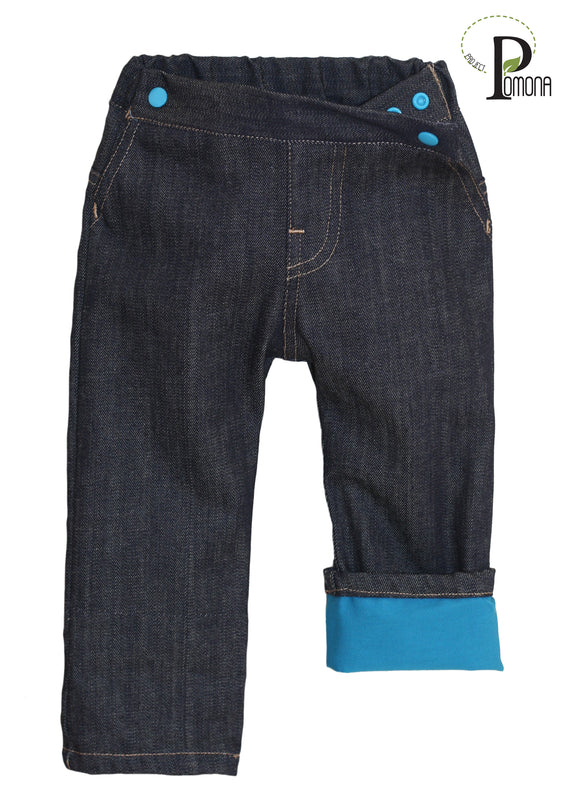 Pomona Jeans with Pacific Pool Cuffs (ECO/TRAD)
