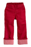 Project Pomona Stretch Denim Jeans in Red (ECO/Stretch Waist)