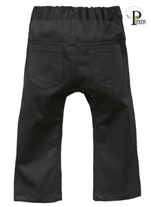 Stretch Twill Slacks in Charcoal (ECO/TRAD)