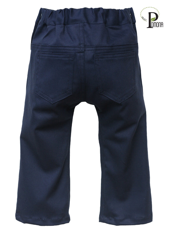 Project Pomona Stretch Twill Slacks in Navy (TRAD)