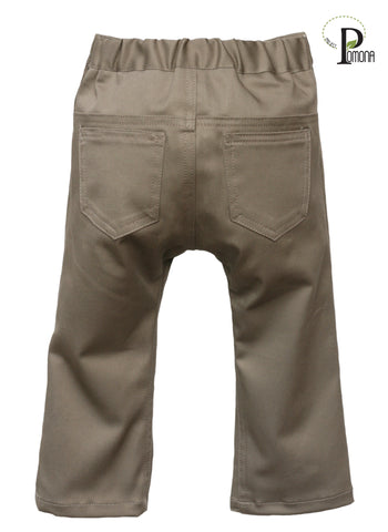 Project Pomona Stretch Twill Slacks in Sandy Khaki