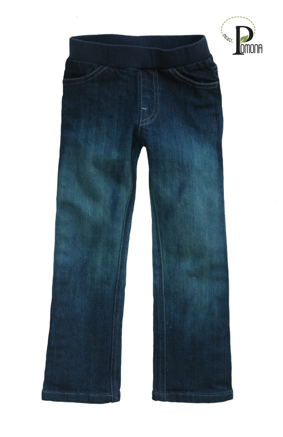 Stretch Waist Spruce 'Wash House' Jeans