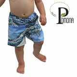 Project Pomona Waves Shorts (ECO/Stretch Waist)