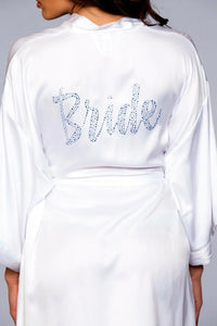 Women's Bridal White Robe - LAB1800