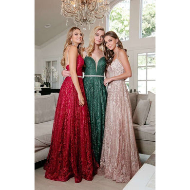 Gorgeous Prom A-line Gown - ZA227