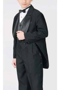 A elegant boys tuxedo with a tail to 3- TXP8209 - Boys suits