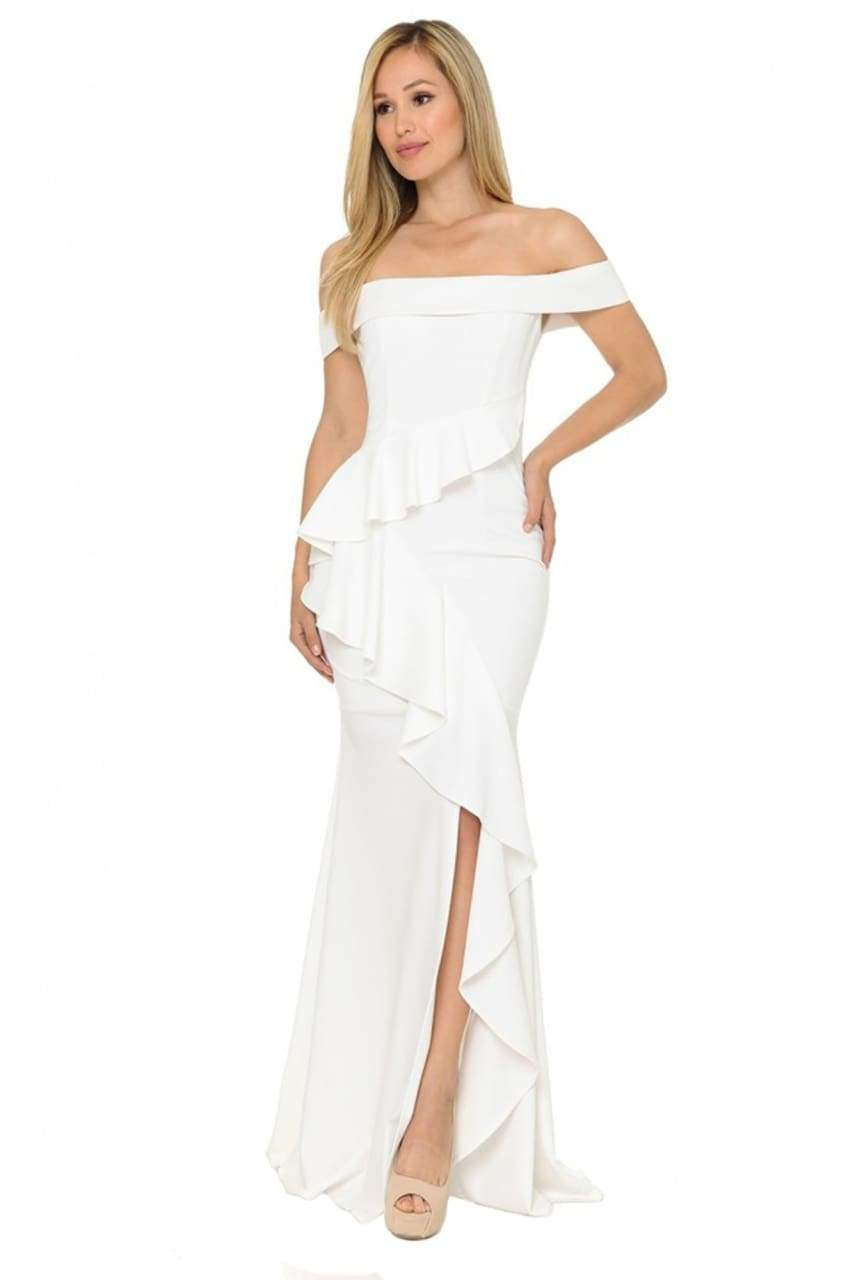 Sexy Dresses For Weddings - IVORY / XS