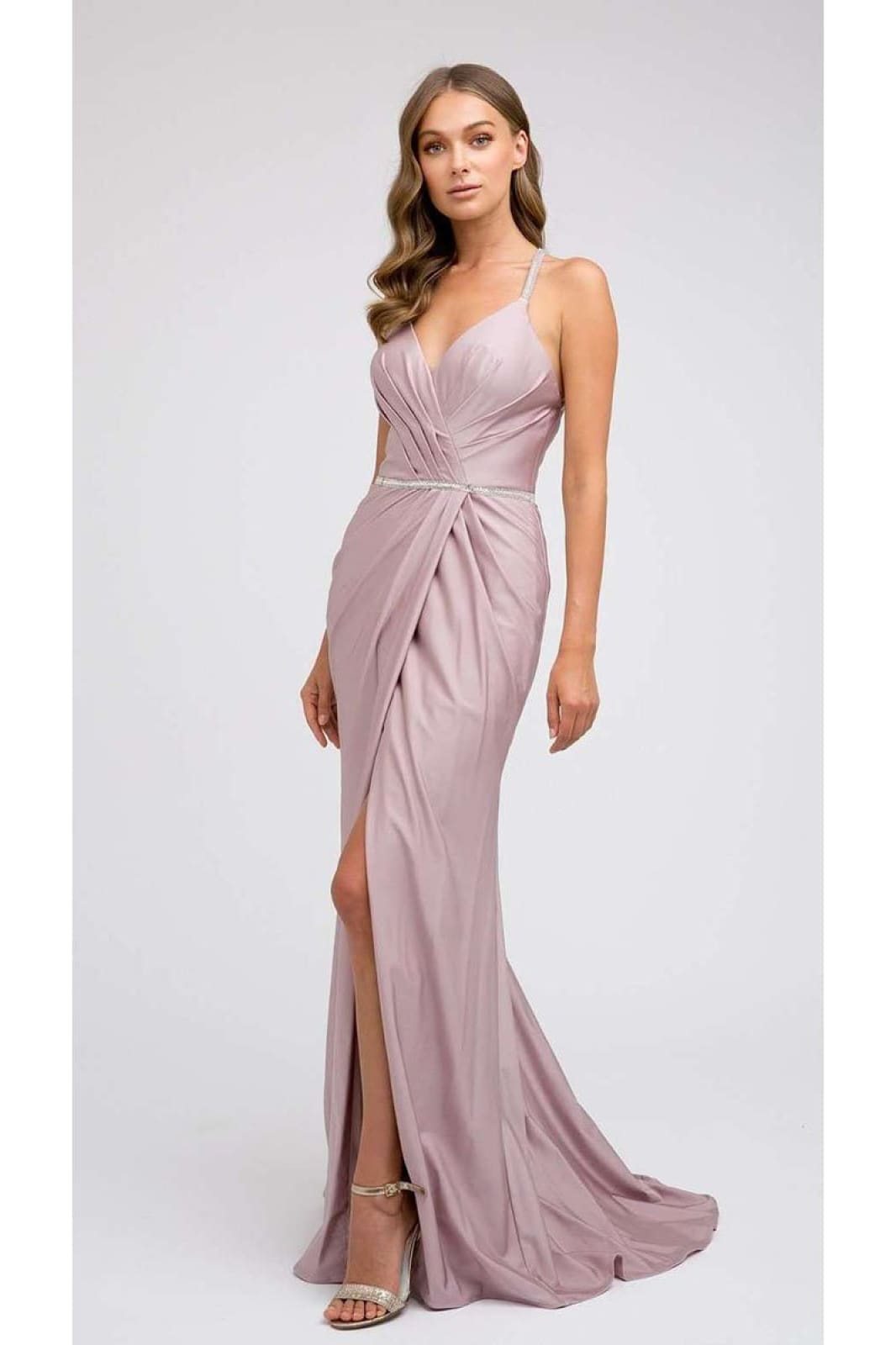 Simple & Sexy Prom Dress JT233 - Mauve / XS - Dress