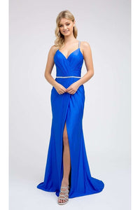 Simple & Sexy Prom Dress JT233 - Royal / XS - Dress