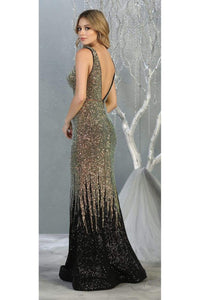 Special Occasion Sequined Dress And Plus Size