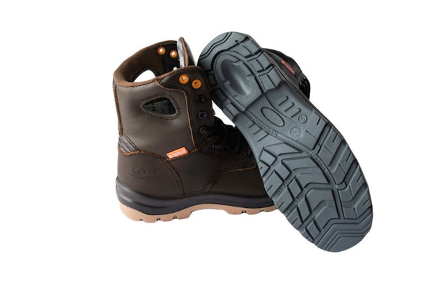 "Orange River® Neptune, 6"", CSA and ASTM approved safety boots, composite toe, full leather, water-proof, 3M thinsulate"