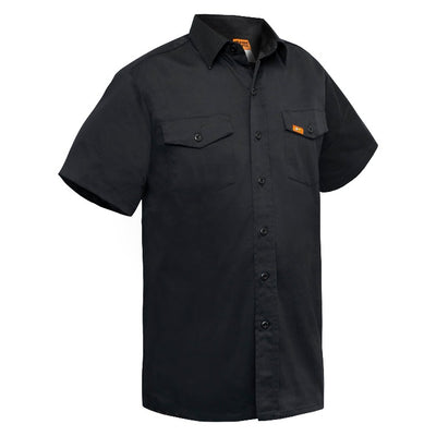 Men's Stretch Short Sleeve Shirt - Style: Richard