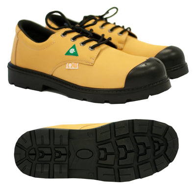 Steel Toe Work Shoes, Style: Bill