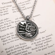 Viking Odin Yggdrasil World Tree of Life Stainless Steel Pendant Necklace