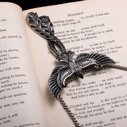 Viking Soaring Phoenix Stainless Steel Pendant Necklace