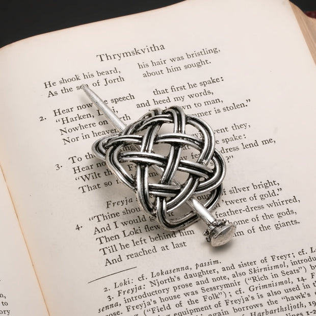 Viking Norse Celtic Hair Pin Open Knot