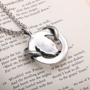 Viking Goat Head Rune Stainless Steel Pendant Necklace