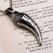 Viking Dragon Fang Stainless Steel Pendant Necklace