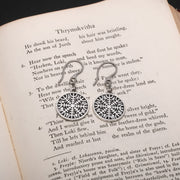 Viking Helm of Awe Earrings
