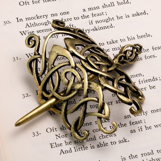 Viking Norse Celtic Hair Pin Norse Knot