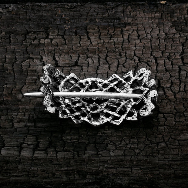 Viking Norse Celtic Hair Pin Thistles and Thorns