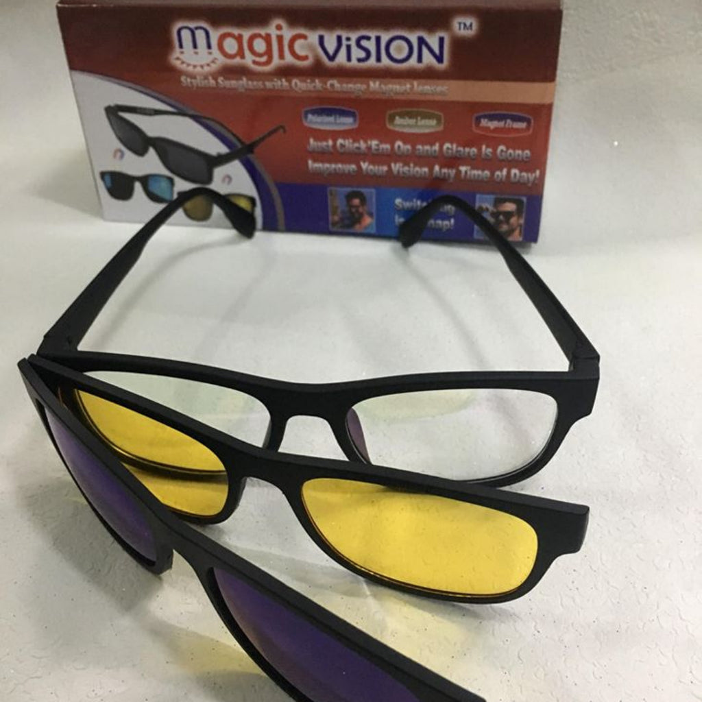 ba74fa72a82 Magic-Vision 3 in 1 Magnetic Glasses™ – evonrything