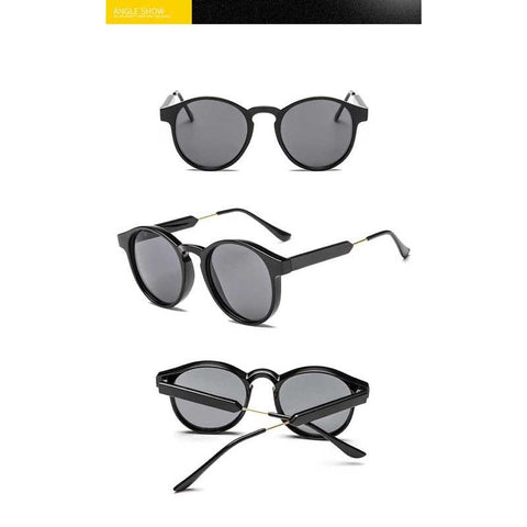 Retro Circle Sunglasses