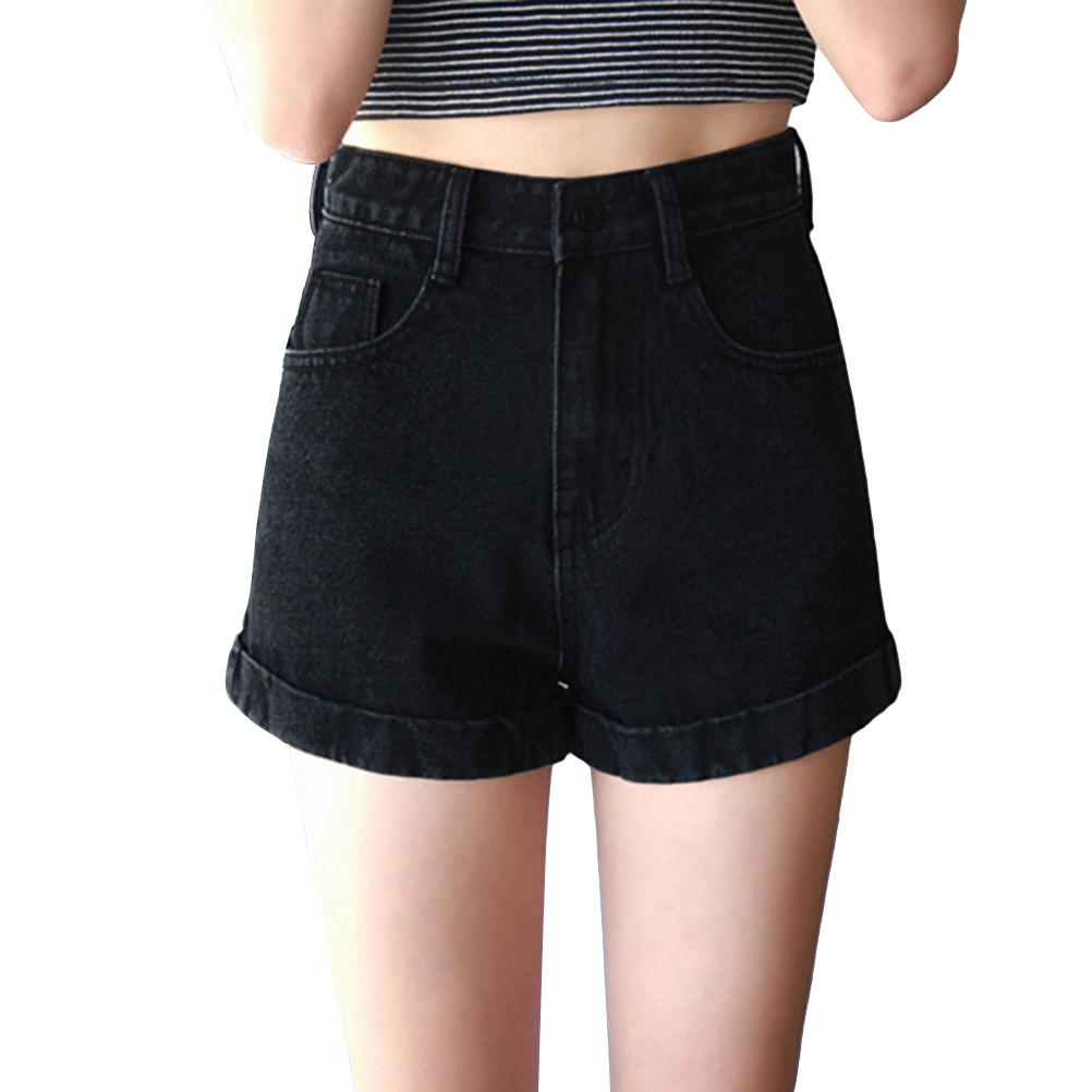 Classic Solid Shorts Casual Summer Beach Holiday