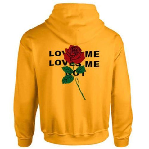 Black and Yellow Warm Thicker Hoodie