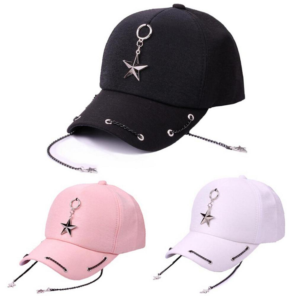 Classic Outdoor Baseball Pentagram Hat- Peak Cap