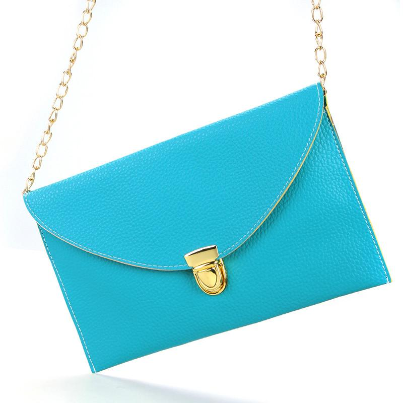 Envelope Clutch Chain Purse
