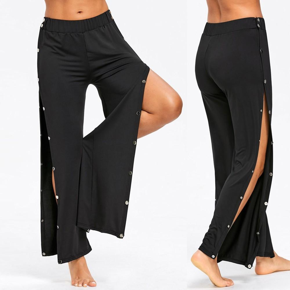 Loose Nails Split Yoga Pants
