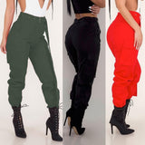 Cargo Trousers Casual Pants Military