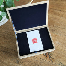 Load image into Gallery viewer, Exquisite gift set for customized square seal