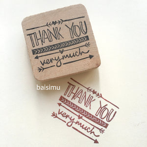 Thank you very much! stamp