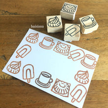 Load image into Gallery viewer, Rubber stamp carving private workshop