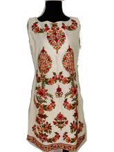 Load image into Gallery viewer, White Ari Embroidery dress
