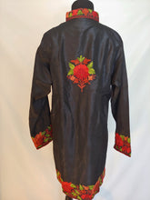 Load image into Gallery viewer, Kashmiri Ari embroidered silk jacket