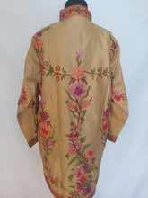 Load image into Gallery viewer, Faan Kashmiri Ari embroidered silk jacket