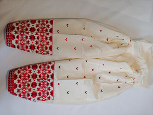 Patiala Embroidered SALWAR white