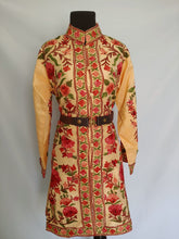 Load image into Gallery viewer, Faan multicolor Kashmiri Ari embroidered Silk Jacket