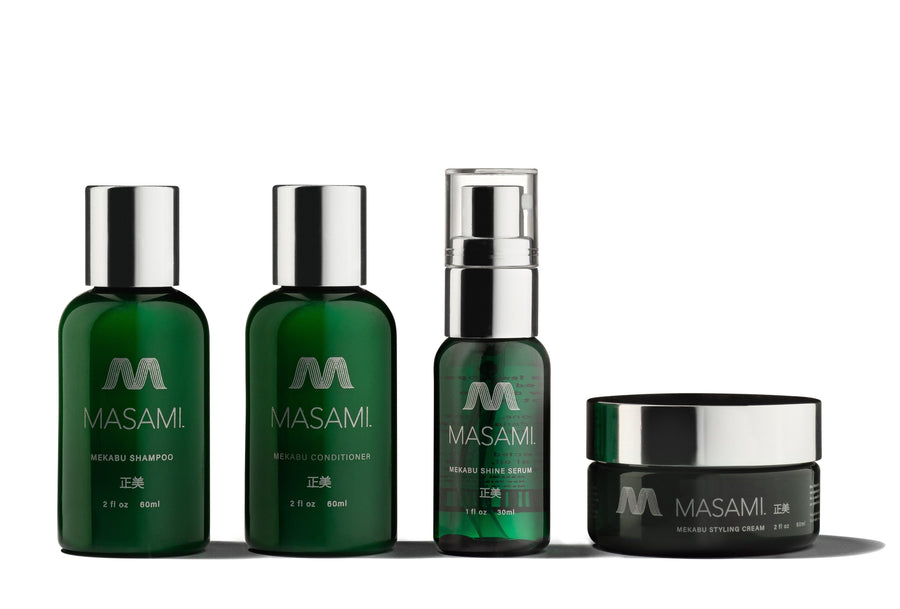 Masami Conditioner Mekabu Travel Kit