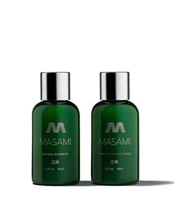 Masami Trial Size Travel Size Shampoo and Conditioner