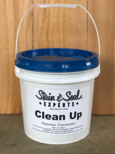 """Clean Up"" Degreaser 