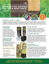 POSTSAVER Post Sleeves | In-Ground Post Protection - Stain & Seal Experts Store