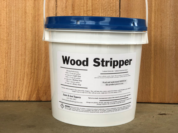 Wood Stripper | Deck Stain Remover - Stain & Seal Experts Store